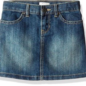 Children's place denim jean skirt